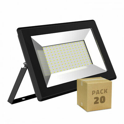 Pack Foco Proyector LED Solid 100W (20 un)