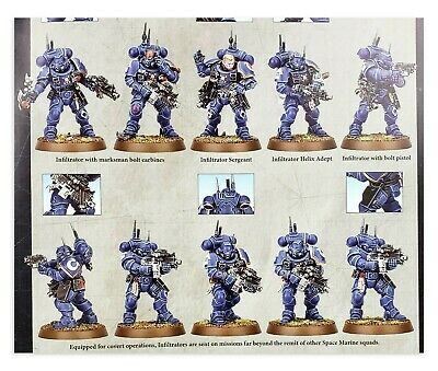 10 Infiltrators Vanguard Space Marine Warhammer 40K Shadowspear Primaris
