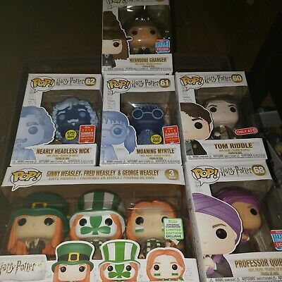 Sdcc,nycc.and Eccc Harry Potter Funko Pop Lot