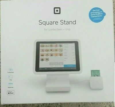 Brand New Square Stand for iPad with Contactless and Chip Reader.