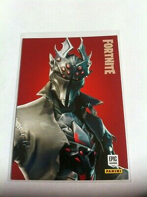 Fortnite Series 1 Spider Knight Legendary Outfit #290 2019 Panini Trading Cards