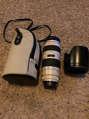 Canon EF 70-200mm f2.8 L USM NON-IS!!! With hood and caps PLEASE READ