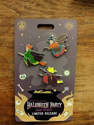 Disney Pin Mickey Not So Scary Halloween Party 2019 Sanderson Sister Hocus Pocus