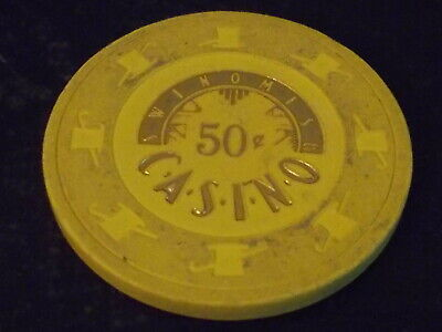 SWINOMISH CASINO $0.50 (50¢) casino gaming chip ~ Anacortes, WA