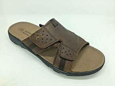 Comfort Leather  Men's Sandal-- JERRY brown - FREE POSTAGE!!!