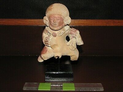 Pre Columbian, Pottery, Detailed Ancient Figure, Late/L Post Classic 600 900 AD