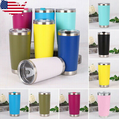 600ML Travel Mug Tea Coffee Water Vacuum Thermos Cup Bottle Stainless Steel US