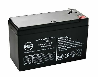 Chloride 12V7.0AH 12V 8Ah Alarm Battery - This is an AJC Brand Replacement