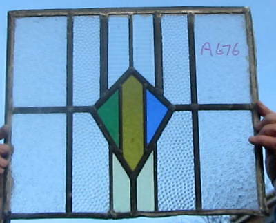 A676   Ca 1930s       Stained glass