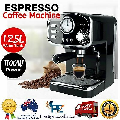 Automatic Coffee Machine Espresso Cappuccino Maker with Milk Frother Frothing AU