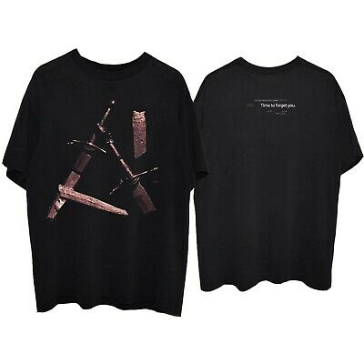 Post Malone Hollywood's Bleeding swords BLACK T-Shirt