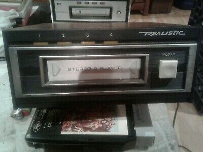 Realistic 8 Track Player