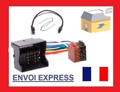 Cable Adaptateur Fakra Iso Autoradio + Cle Extracteur Peugeot 207 307 307Cc