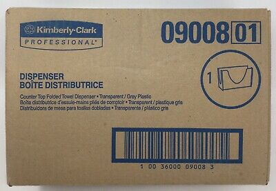 """Kimberly-Clark IN-SIGHT 09008 Counter Top Folded Towel Dispenser, 10-7/8"""" Width"""