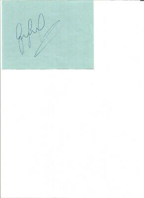 Gary Lineker signed autograph piece  6x4 inch ,former football player EL27