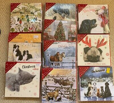 Wholesale Joblot 10 Packs Luxury Christmas Cards RRP £3.99 Each