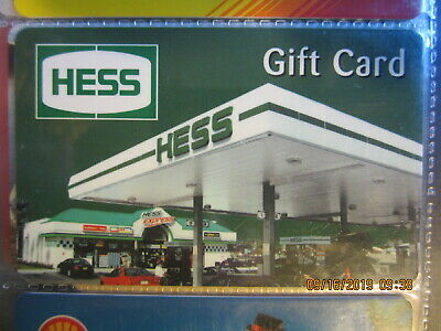 HESS  swap trade collect NO VALUE GIFT CARD