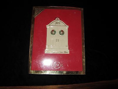 Lenox 2001 1St Year In Our New Home Xmas Ornament New In Box; Usa