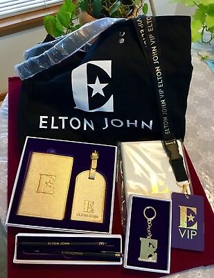 Elton John VIP Farewell Yellow Brick Road Rocketman Gift Set & Poster No Tickets