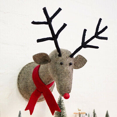 Christmas Reindeer Wall Head Decoration