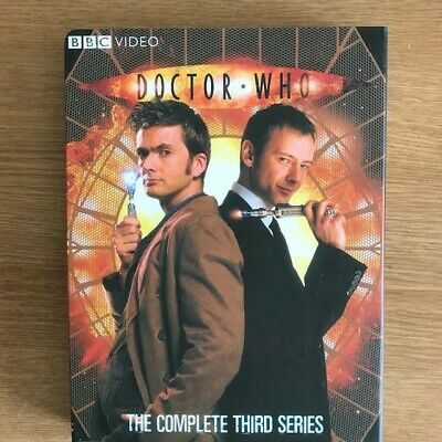 Doctor Who The Complete Third Series 6 DISC BOX SET DAVID TENNANT