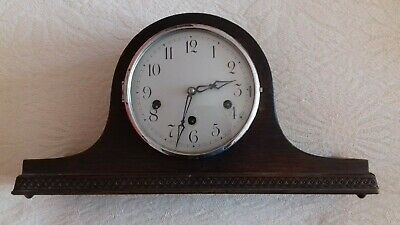 Vintage , Napoleon Hat . Westminster Chime.    8 Day mantel  clock