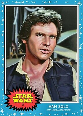 TOPPS STAR WARS LIVING SET HAN SOLO #21 In Hand!