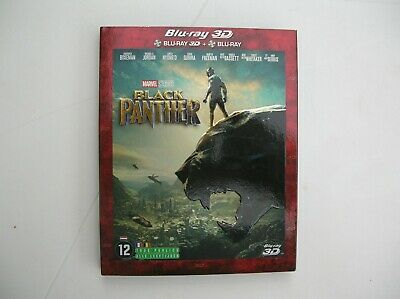 Black Panther Blu-ray 3D + 2D  - Marvel [Combo Blu-ray 3D + Blu-ray 2D]