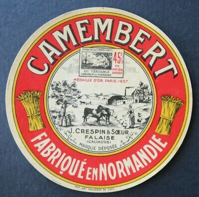 N106   FROMAGE CAMEMBERT CRESPIN FALAISE FERMIERE VACHES