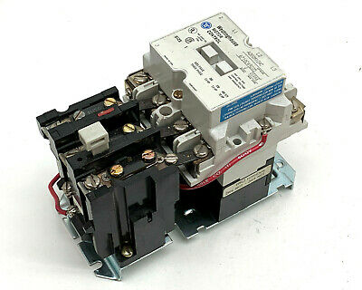 Westinghouse A200M1CAC Motor Control Size 1 Starter 120V Coil w/Overload Relay