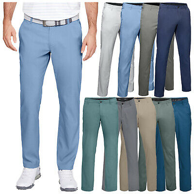 2020 Under Armour Mens Showdown Tapered Leg Trousers UA Golf Flat Front Pants