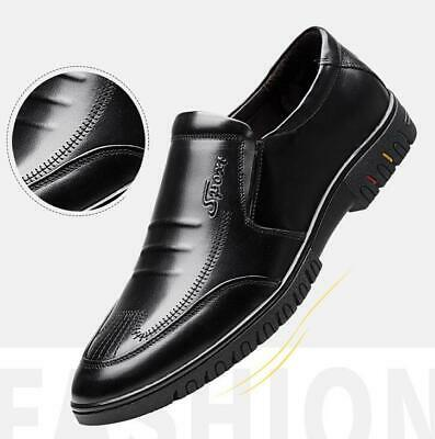 New Mens Business Formal Dress Shoes Casual Breathable Slip On Loafers Moccasins
