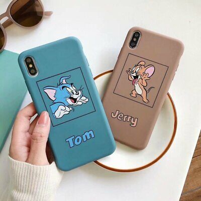 Case For iPhone XR XS MAX 8 7 6 ShockProof Soft TPU Silicone Cartoon Phone Cover