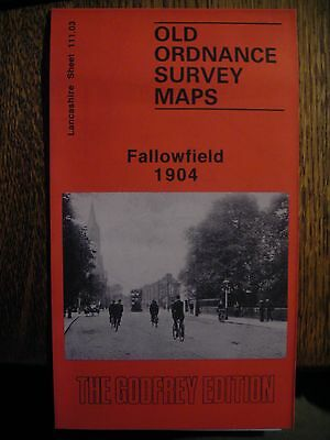 Old Ordnance Survey Map Fallowfield 1904