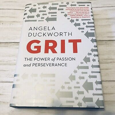Grit The Power of Passion and Perseverance by Angela Duckworth New B2