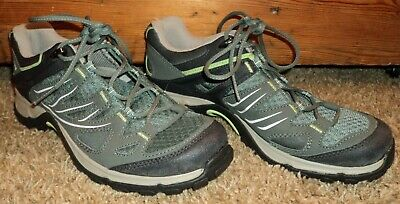 EUC WOMEN'S SALOMON Ellipse GTX Hiking Shoes BlackTan