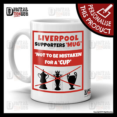 Liverpool Mug YNWA Reds Scouser Football Birthday Leaving Gift Supporters