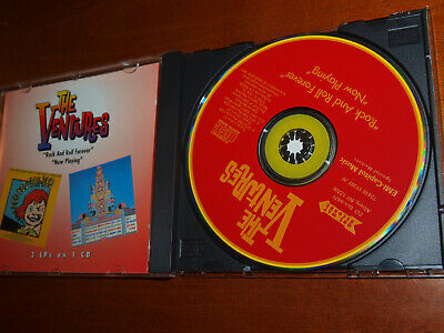 The Ventures - Rock and Roll Forever/Now Playing 2 lp on 1 cd Harvey Mandel RARE