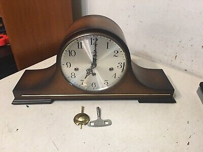 Rare Vintage Linden Triple Chime Mantle Clock Westminster Whittington St Michs