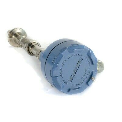 Rosemount Temperature Transmitter 78 With Painted Connection Head & Thermowell