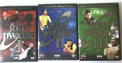 BBC Video - Red Dwarf - Seasons 1,2 & 3   6 DVDs - Free Shipping