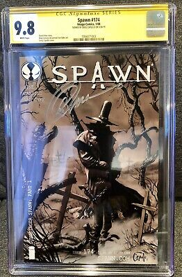 Spawn #174 CGC 9.8 SS Signed By Greg Capullo 1st Gunslinger