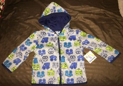 NWT Baby Boys' Size 12 Months Hooded Fleece Top<Garanimals