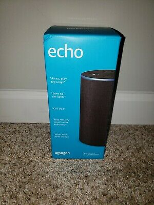 NEW IN BOX Amazon Echo (2nd Generation) Smart Assistant