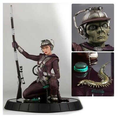 """Star Wars Attack of the Clones Zam Wesell Deluxe 8"""" Statue"""