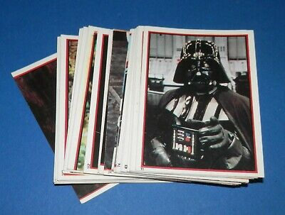 1983 Panini Star Wars Return of The Jedi Stickers x 42