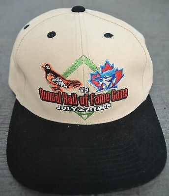1998 Hall Of Fame Game Hat Toronto Blue Jays Vs. Baltimore Orioles One Size