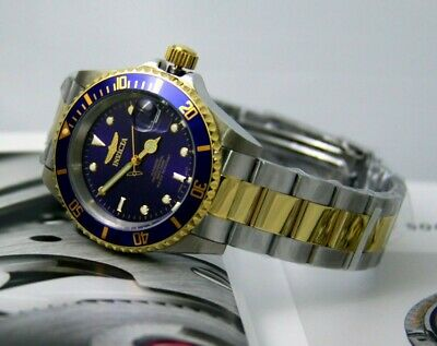 Invicta Men's Watch Pro Diver Automatic Two Tone Stainless Steel Bracelet 8928OB