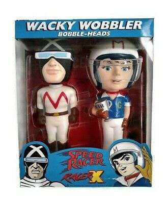 Funko Wacky Wobbler Speed Racer X Bobble Heads Pop Vinyl Figure Retired New