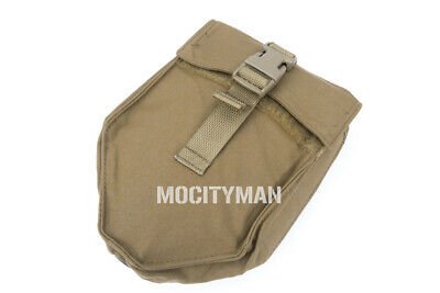 TAG Coyote E-Tool Pouch Carrier fits Gerber Military Entrenching Shovel USA Made